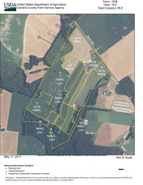 Tilled Acreage - 100 Acres